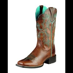 Ariat Tombstone western embroidered boot